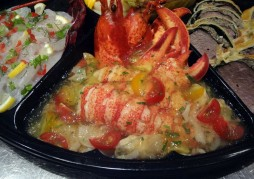 オマール海老とミル貝のマリネ トマトゼリーかけ
